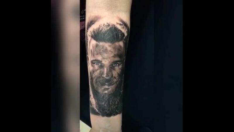 Ragnarr by Tattoo UP Team Timur Uzar