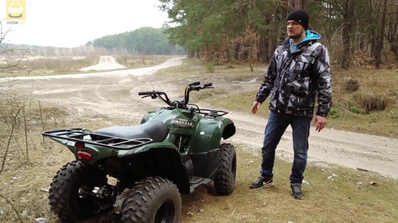 Квадроцикл Yamaha Grizzly 300 - DDrive E12 - тест-драйв