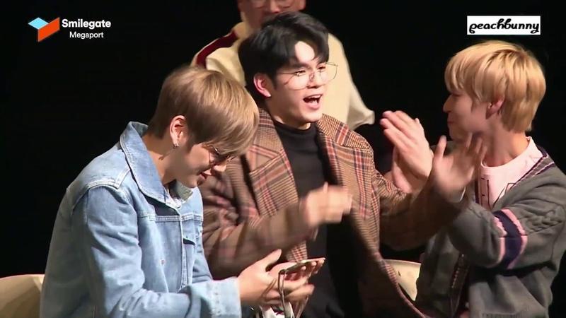 [강다니엘 박지훈/워너원] 워너비 더뮤지션 행사 스케치 - 장꾸즈 CUT (DanielJihoon)