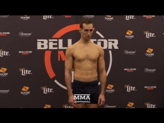 #Bellator192 weigh-in results: Rory MacDonald at 169.3