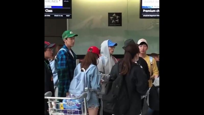 180613 Аэропорт Хитроу Вылет в Корею