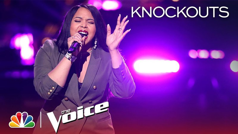 The Voice 2018 Knockout - Sharane Calister: All I Could Do Was Cry