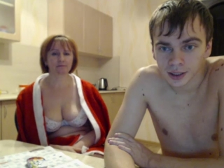Real mom son love webcam