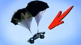 Parachutes on Traxxas RC Cars! Traxxas Underground