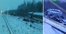 Военная техника вывалилась из поезда после аварии на Транссибе фото
