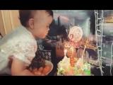 МЫ ТЕБЯ ОБОЖАЕМ! Нашей крошке ❤️2 годика❤️#2годика#Amelia #ТЫ наш мир ?#? 09.09.2016г. в Международный День красоты- родилас