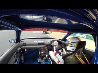 Calsonic Onboard! Epic R32 Skyline GT-R (1990) - Onboard Cam @ Fuji Speedway