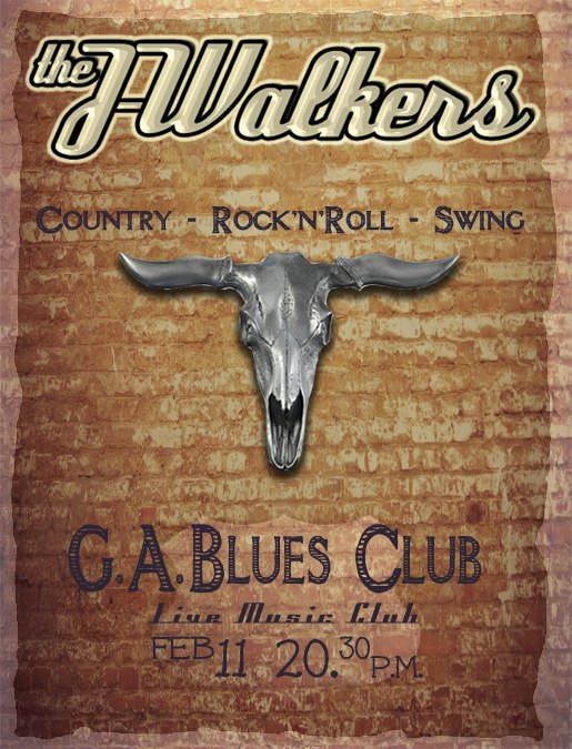 11.02 The J-Walkers в G.A.Blues Club