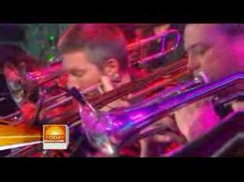 Brian Setzer Wolfgang's Big Night Out Live on Today Show