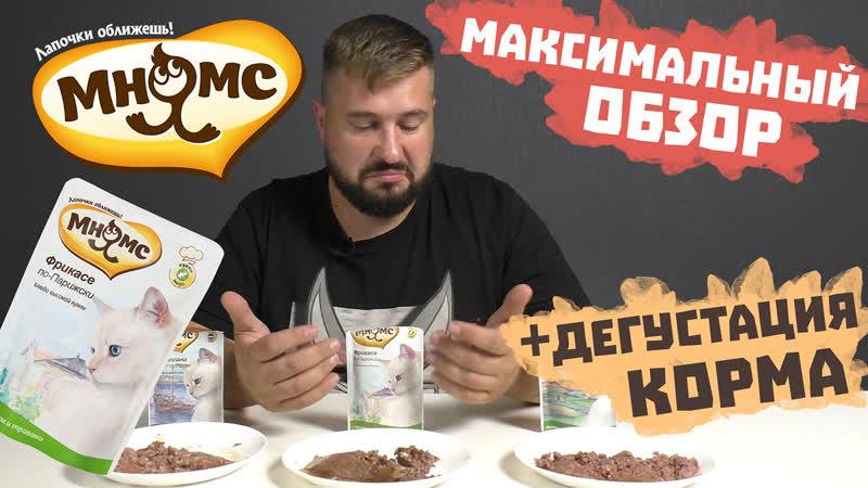 МНЯМС консервы для кошек | Блюда высокой кухни | Обзор корма
