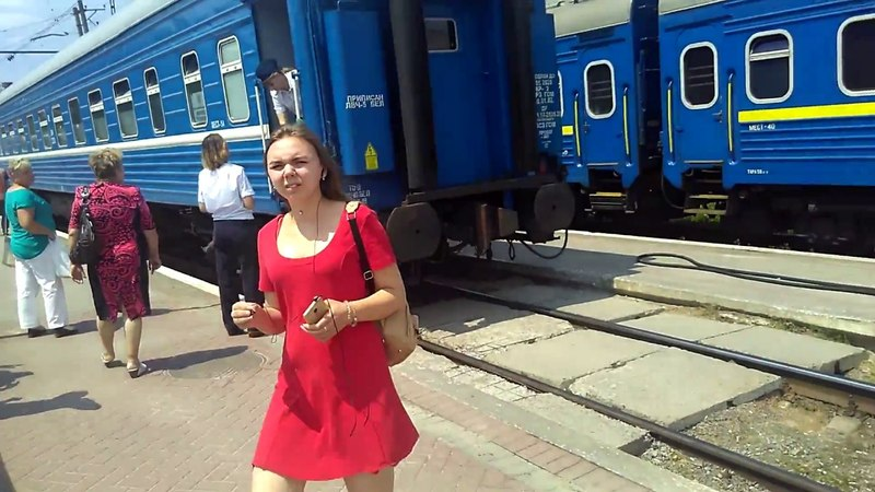 Поїзд №371 Могилів—Трускавець вперше прибув у Трускавець.