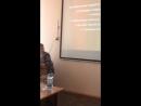 Очная презентация l этапа муниципального социально ориентированного проекта для клубов будущих избирателей «Наше время».