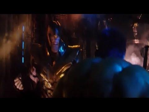 Халк против Таноса. Мстители: Война бесконечности. 2018.