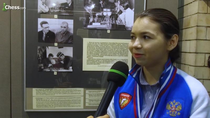 Интервью Чемпионки России 2017 Александры Горячкиной