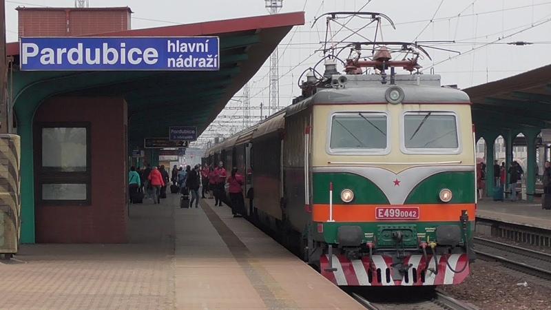 Bobina IDS Cargo 140.042 - RJ 1010 REGIOJET - Pardubice hl.n. - 12.11.2018