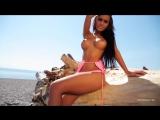 PhotoDromm  Mareeva Vivien Красивая модель в бикини Шикарная фигура Стриптиз Bikini model Sexy legs Big Tits Ass Strip girl1