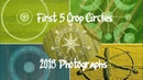 Crop Circle Stills First 5 of 2018 Drone Shots