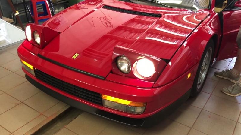 Ferrari Testarossa предпродажная подготовка