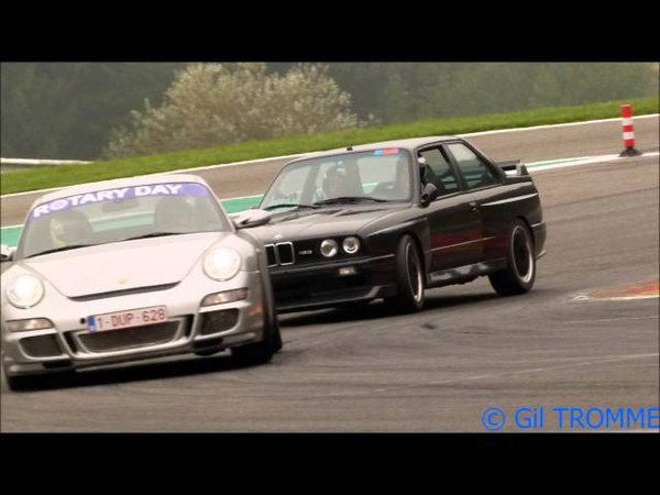 Chasing 911 Carrera Cup in BMW M3 E30 (Fast Laps at Spa-Francorchamps RaceTrack)