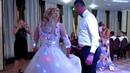 Танец зятя и тещи, мамы и сына, подарочное шампанское, торт на свадьбе 2018 Запорожье