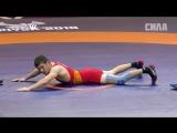 Чемпионат Европы. Греко-римская борьба. Korostelev vs Topoev. Четвертьфинал