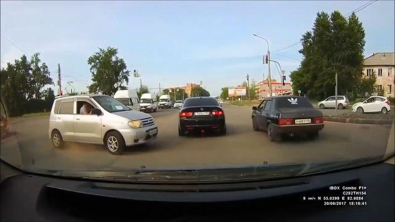 Мгновенная карма, приколы на дороге 2018
