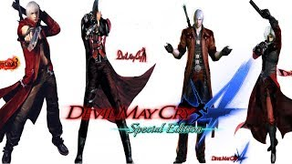 DMC4SE All Series Dante MODs [Devil May Cry 1~4]