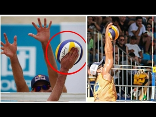 The Most Powerful Beach Volleyball Spikes EVER (HD)