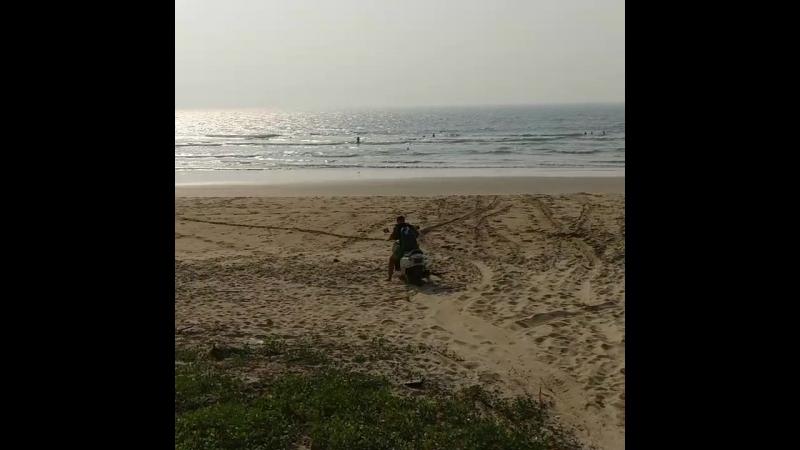 Paradise (Shiroda) Beach, Maharashtra, India