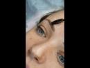 Перманентный макияж бровей Пудровые брови