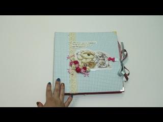 Альбом для подружки в стиле Физзи Мун ручной работы.
