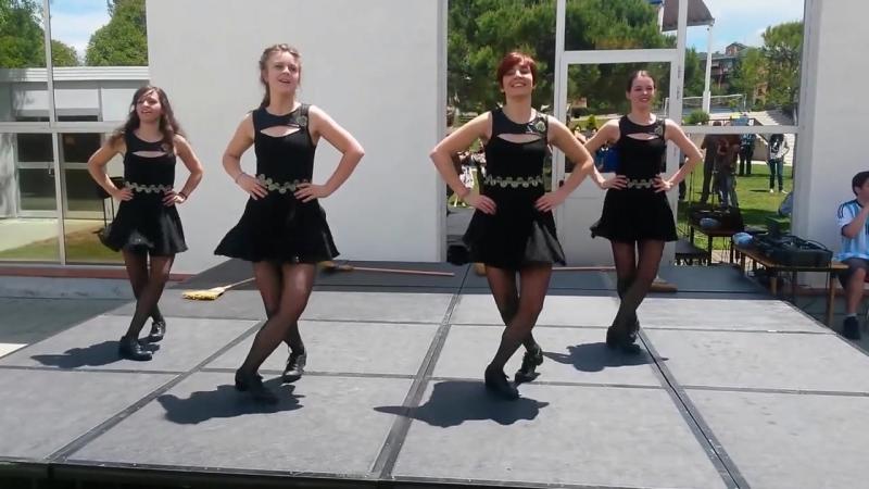 Ирландские танцы в Испании | IRISH TREBLE DANZA IRLANDESA Brujas