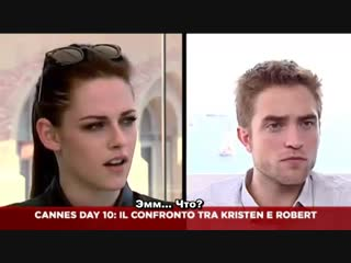 Interview with Kristen, Rob for Sky Cine News (русс.суб)