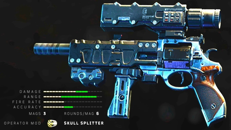 Black Ops 4 BEST Revolver EVER! (Is it Overpowered)