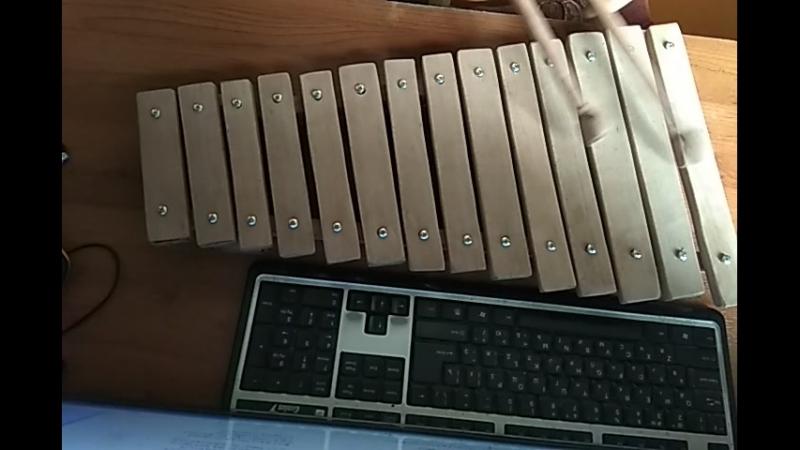 Самодельный ксилофон