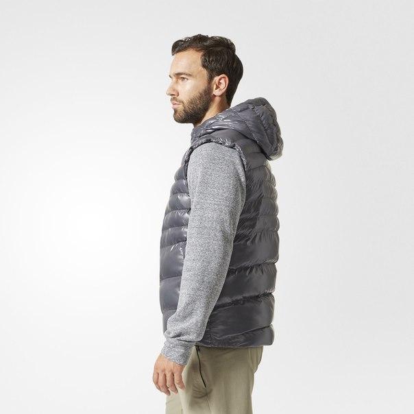 Утепленный жилет Hooded