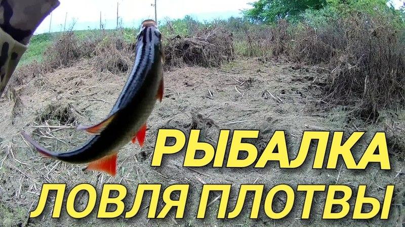 Рыбалка на боковой кивок.Ловля плотвы на мормышку