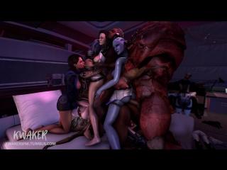Vk.com/watchgirls rule34 mass effect ashley miranda liara edi tali jack femshep sfm 3d porn monster