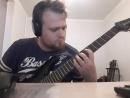 Practicing Jackson JS22-7 Seymour Duncan Fractal Audio