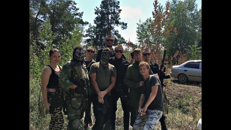 LASERTAG   Команда Ghost на базе Артек   Волгоградская обл.
