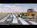 Маркировка взлетной полосы и поля Аэропорта Амман Королева Алиа: сухое окрашивание разметочной машиной BM 5000 CA