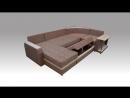 Диван-кровать Граф от компании Азбука Мебели