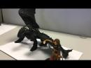 Беззубик (как приручить дракона). пластилин.