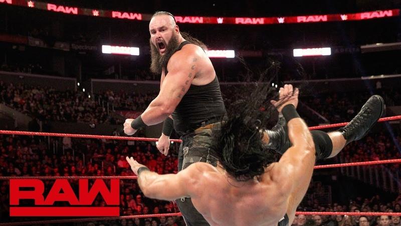 [WBSOFG] Braun Strowman sustains injury during Elimination Tag Team Match: Raw, Nov. 19, 2018