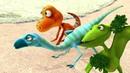 Развивающий мультик Поезд Динозавров. Быстрые друзья