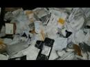 Почтовые свертки выбросили, достав из них всё ценное