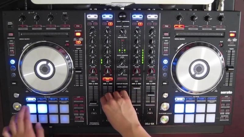 DJ Ravines Christmas Mix 2012 on a Pioneer DDJ SX Electro Hardstyle Dubstep Hardcore