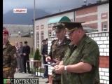 Чечня. Присяга новобранцев 249-го отдельного моторизованного батальона