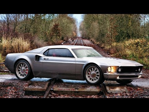 The Ford Mach 40 the Perfect Fusion of a 1969 Mustang Mach 1 and a 2006 GT