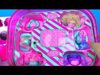 60 СЮРПРИЗОВ ОГРОМНЫЙ СЮРПРИЗ ЛОЛ GIANT #LOL SURPRISE with Spy Baby Dolls КУКЛЫ ЛОЛ С ПАРИКАМИ